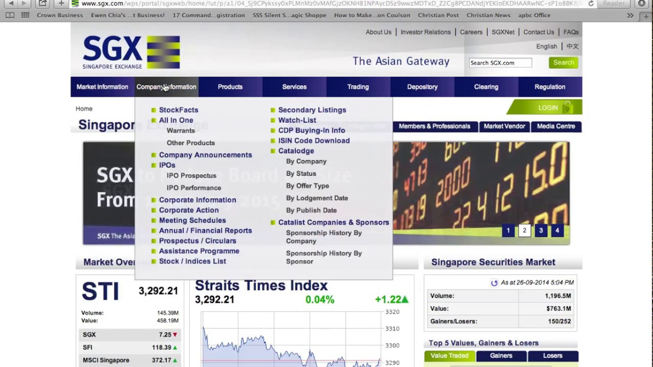 Download How to Find and Assess Stocks Using SGX Stock Facts