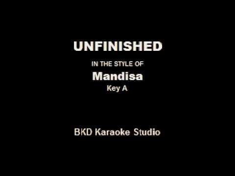 Unfinished (In the Style of Mandisa) (Karaoke with Lyrics)