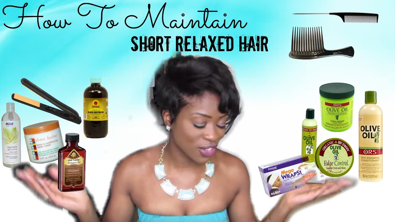 how to style my relaxed hair how to maintain black hair products used 4825