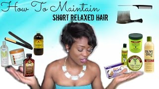 How I Maintain My Short Black Hair : The Overview || STYLE UNTAMED Thumbnail