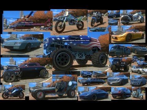 GTA IV - GTA V Car Pack V4 By ETzockiT For GTA IV