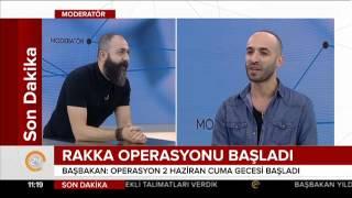 Alem FM radyocuları Umut Bezgin ve Fatih Yıldırım 24 TV'deydi