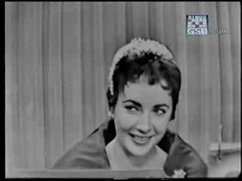 Elizabeth Taylor on What's My Line?