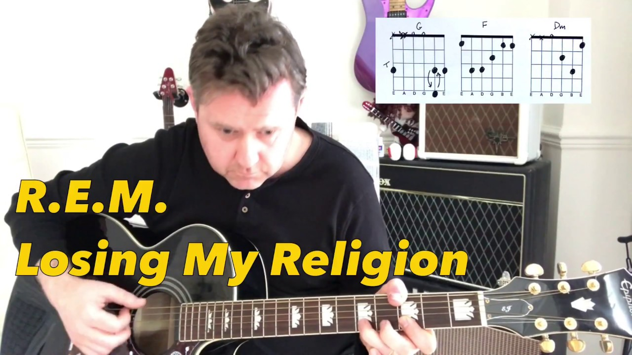 Rem losing my religion guitar play along chord boxes rem losing my religion guitar play along chord boxes hexwebz Images
