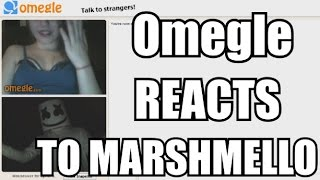 OMEGLE REACTS TO MARSHMELLO | FUNNY OMEGLE REACTIONS!