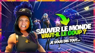 LET'S PLAY FORTNITE SAUVER THE WORLD 🌍Worth the cost?