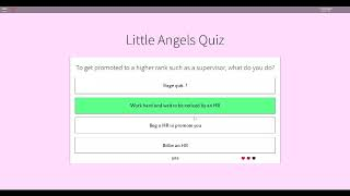 ANSWER'S FOR NURSE [ONLY 2 WRONG]-Little Angels Daycare Roblox