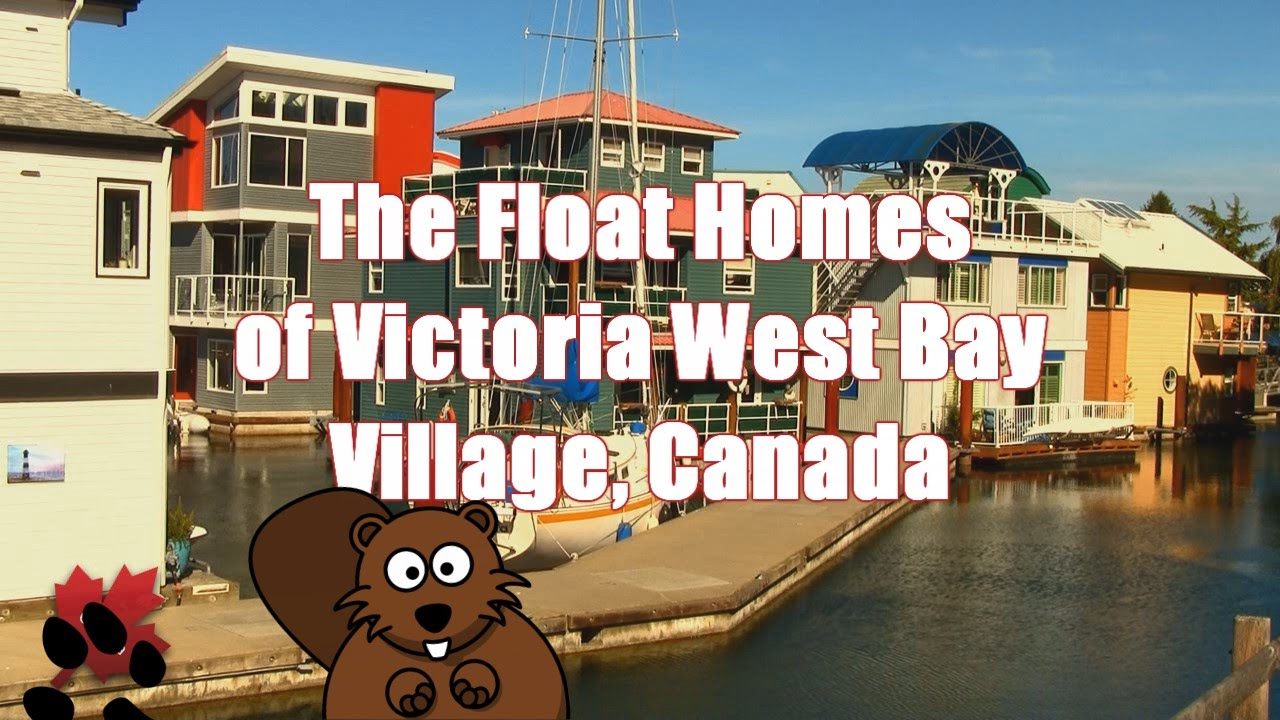 The Beautiful Float Homes of Victoria, Canada - YouTube