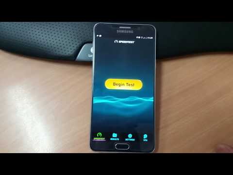 183Mbps Speed Test TPG / Vodafone Network Amazing Speeds! Galaxy Note 5 Who Needs NBN?