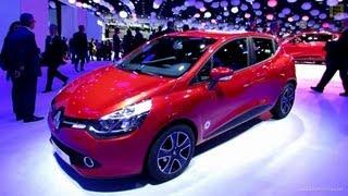 2013 Renault Clio CDi - Exterior and Interior Walkaround - 2012 Paris Auto Show