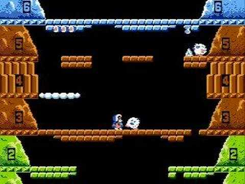 Old School Game Reviews: Ice Climber