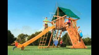 Nashville Wooden Playset- Call 615-595-5565 - Happy Backyards