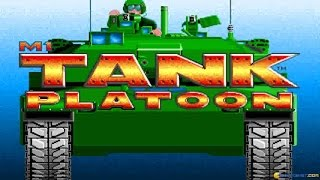 M1 Tank Platoon gameplay (PC Game, 1989)