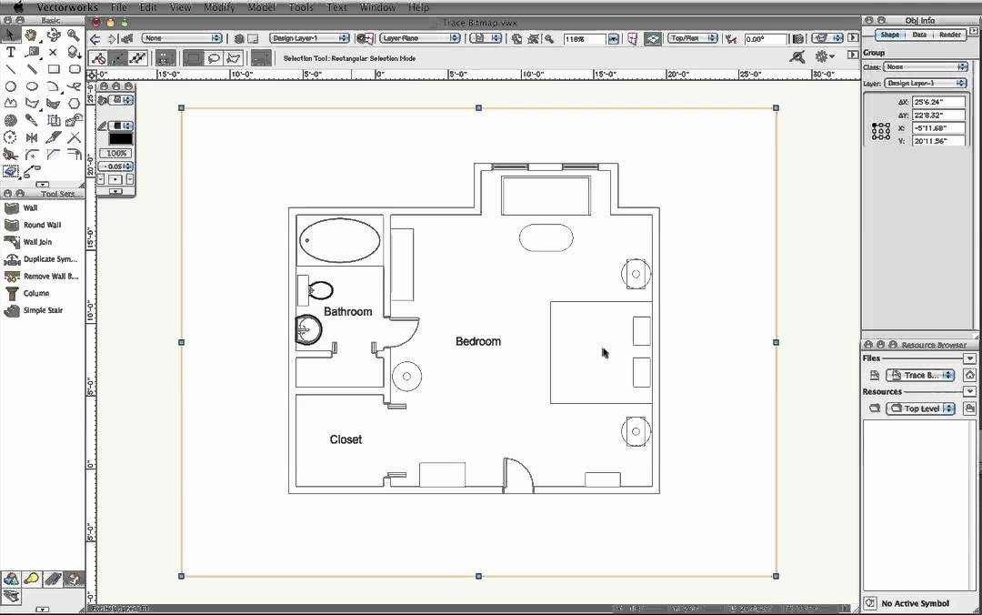 How To Trace An Image In Vectorworks | Scan2CADScan2CAD