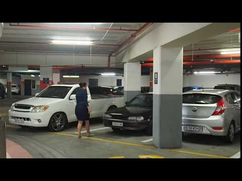 Automatic parking space detection lights in Cape Town