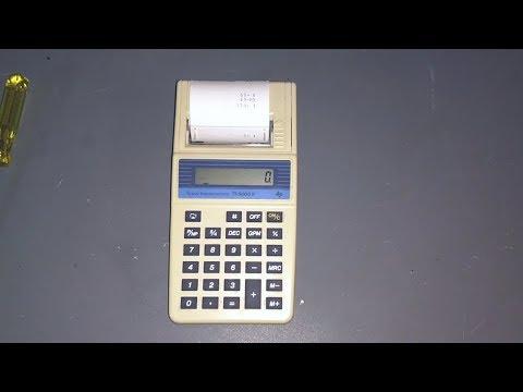 Texas Instruments TI-5005 IIB Printing Calculator (1993)