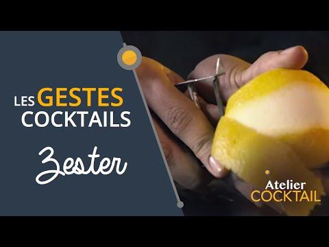 Les gestes cocktails - Zester