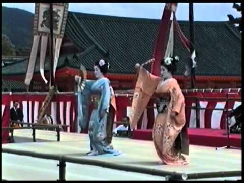 Geisha Dances at Heian Shrine