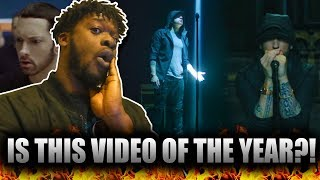 Eminem - Walk On Water (Official Video) ft. Beyonce (REACTION!!!)