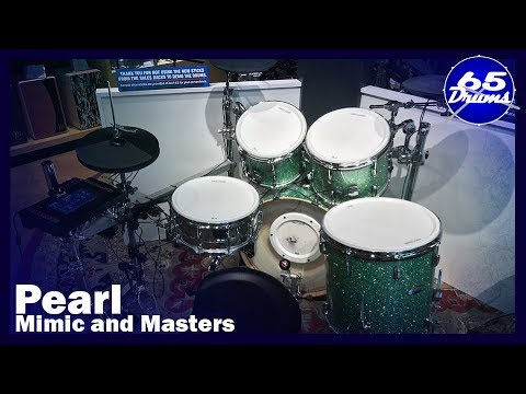 Pearl Mimic with Masters MCT Drumset First Impressions