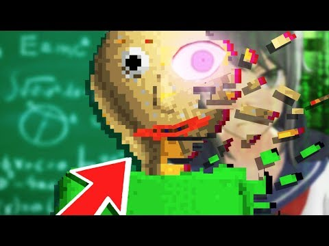 A School WORSE than YANDERE SIMULATOR!? - Baldi's Basics in Education and Learning (ALL 7 Notebooks)