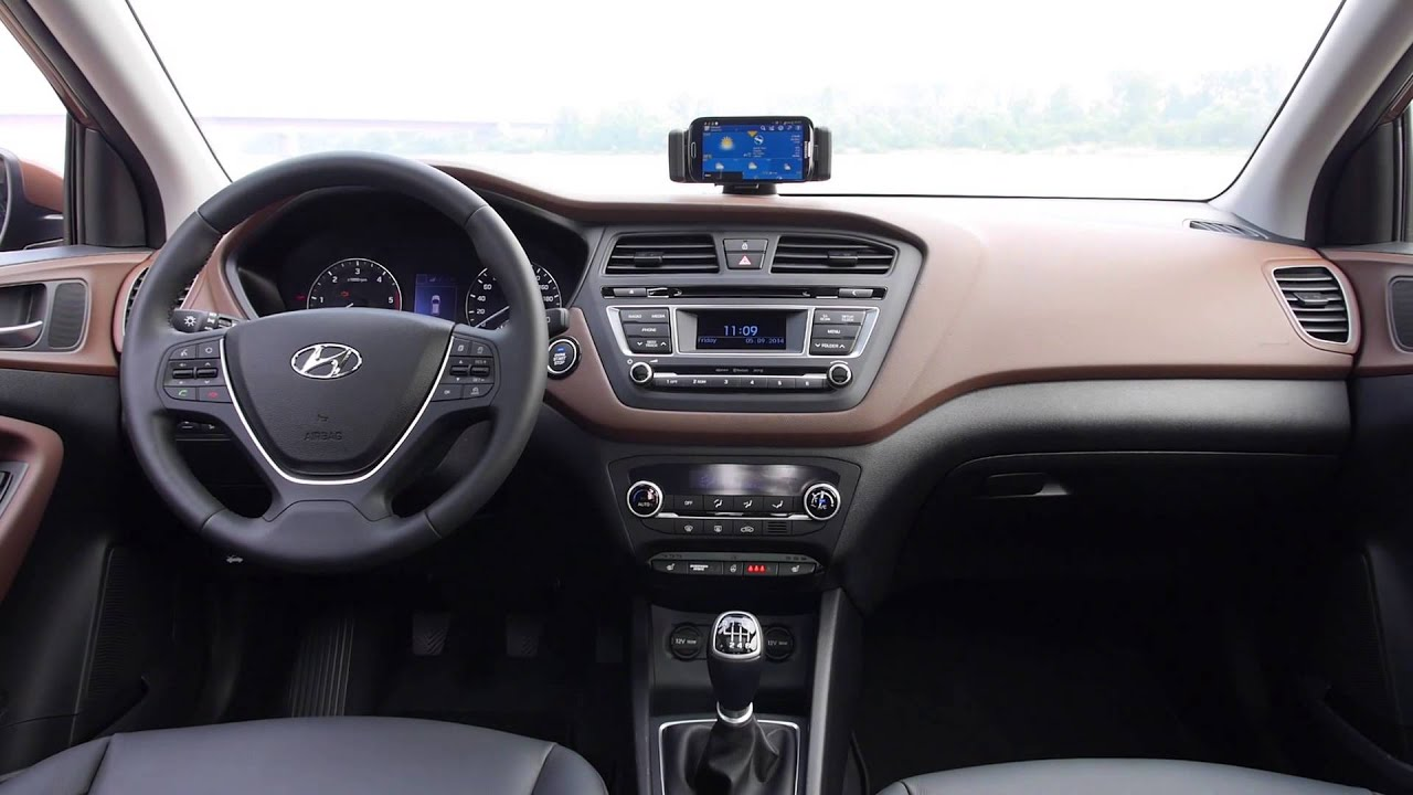 New generation hyundai i20 interior design trailer youtube for Interior hyundai i20