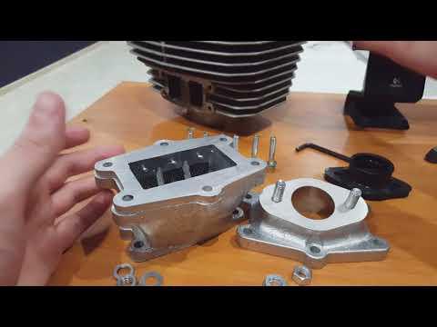 Обзор впускного KITа с лепестковым клапаном на мотоцикл ИЖ Планета Спорт