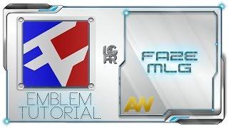 Easy AW MLG Faze Clan Logo Emblem Tutorial : Advanced Warfare