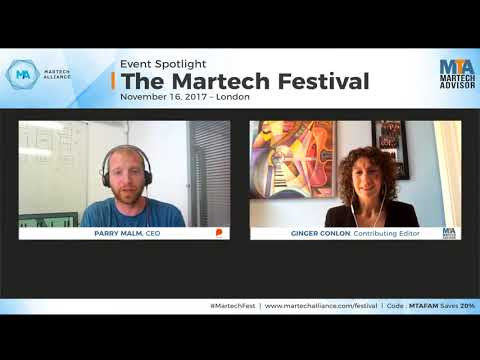 Optimizing email marketing techniques by Parry Malm, CEO Phrasee | MTA