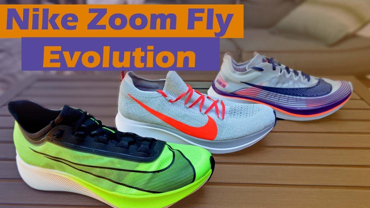 b4cdfe3a Nike Zoom Fly 3 Evolution - YouTube
