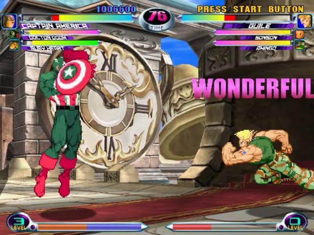 Jouez à Marvel vs Capcom 2 sur Sega Dreamcast grâce à nos Bartops Arcade et Consoles Retrogaming