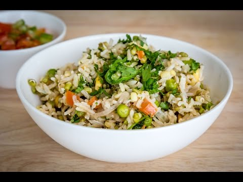 Brown Rice with Sprouts | Healthy Recipe