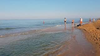 Состояние моря. 7.07.2018 АНАПА ВИТЯЗЕВО ДЖЕМЕТЕ