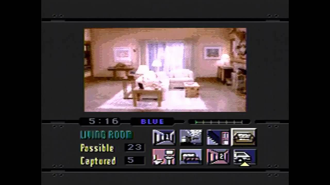 Night Trap- Sega cd- Gameplay