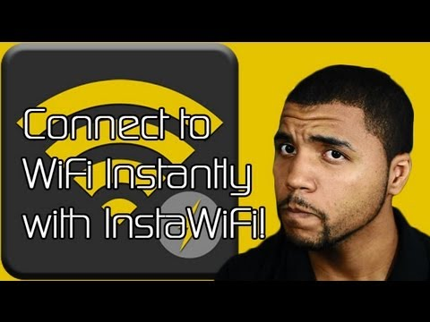 Connect to WiFi Instantly with InstaWiFi