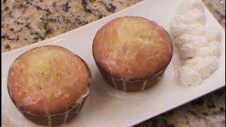 Vegan Mamon Sponge Muffin Cake