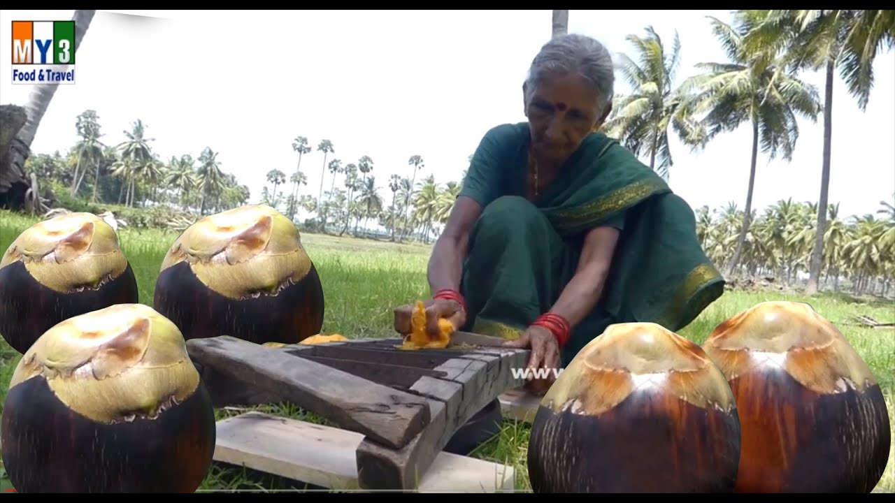 Grandma Making Toddy Bread - Traditional Old Style Foods