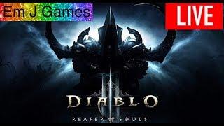 ❤️ LIVE ❤️ Diablo 3 - Reaper Of Souls -  Greater Rifts 80  - Part 1 - Demon Hunter - PC Gameplay -
