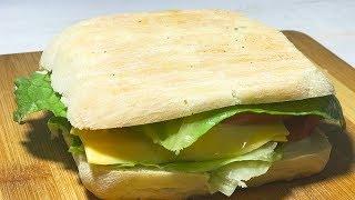 Рецепт гриль сэндвич с двойным сыром