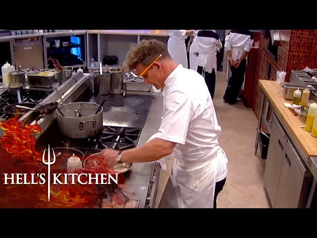 Gordon Ramsay Has Enough & Cooks The Final Table Himself | Hell\'s Kitchen