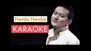 Herda Herdai (Raju Lama) - Full Karaoke With Lyrics || BasserMusic Karaoke || Nepali Karaoke Songs
