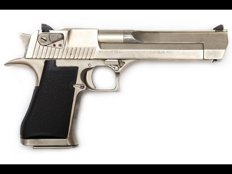 how to use the desert eagle