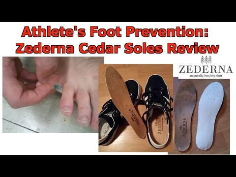 Athlete's Foot Prevention: Zederna Cedar Wood Insoles Review