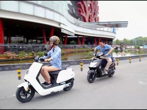 Đi thử xe máy điện BOSCH NIU N1 E-SCOOTER 800W pin PANASONIC 60V20ah tại Hà Nội