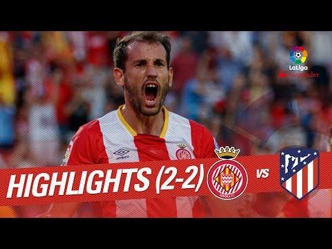 Resumen de Girona FC vs Atlético de Madrid (2-2)