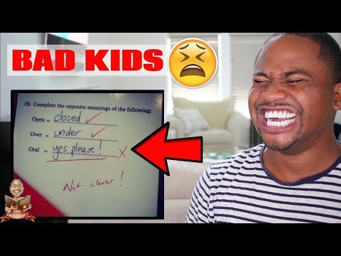 Funny Detention Slips & Funniest Kid Test Answers (PT 2) | Alonzo Lerone