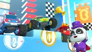 Cuộc đua của những siêu xe quái xế | Ảo thuật gia kiki panda | Tuyển tập ca nhạc thiếu nhi BabyBus