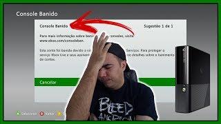Meu Xbox 360 Original Foi Banido da Xbox Live / E agora José ? • (nº1166)