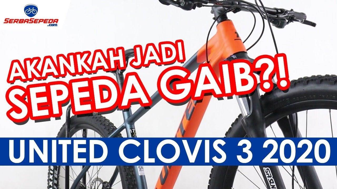 MTB United Terbaru Clovis 3 2020 Spesifikasi Lengkap
