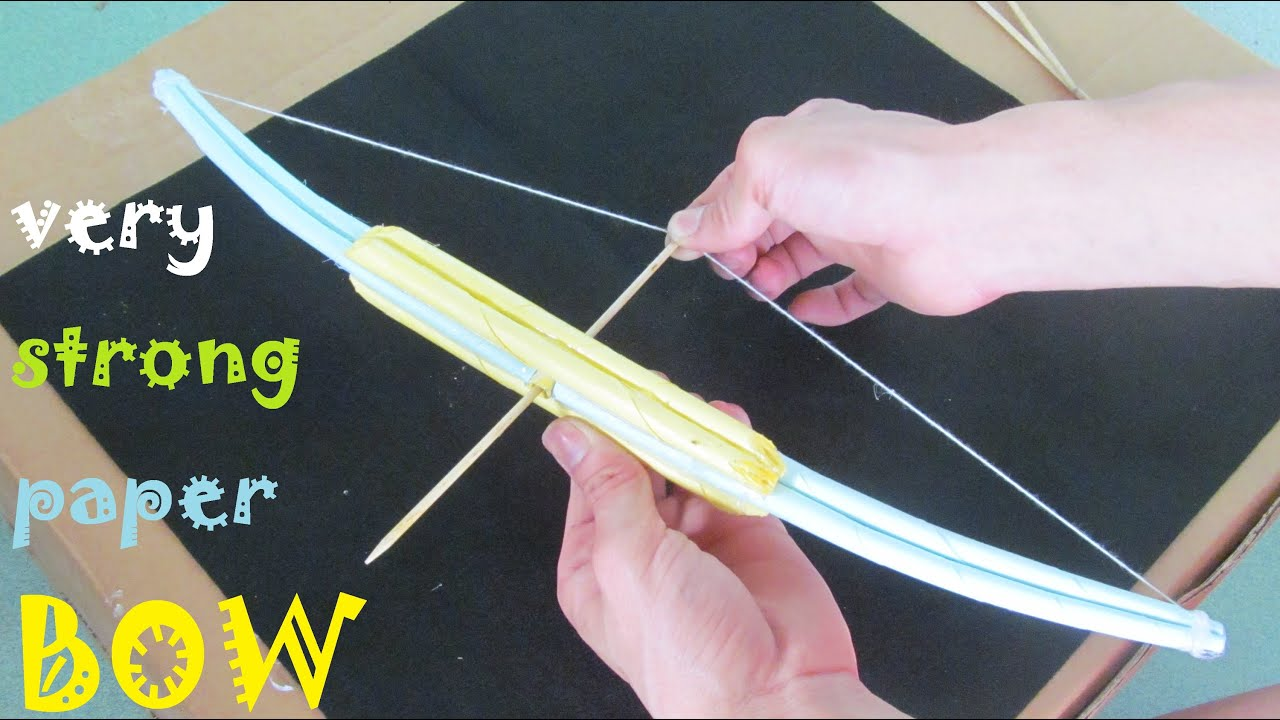 Cool Weapons To Make How to make a very Str...
